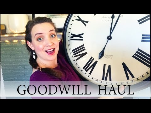 Home Decor - Goodwill Haul