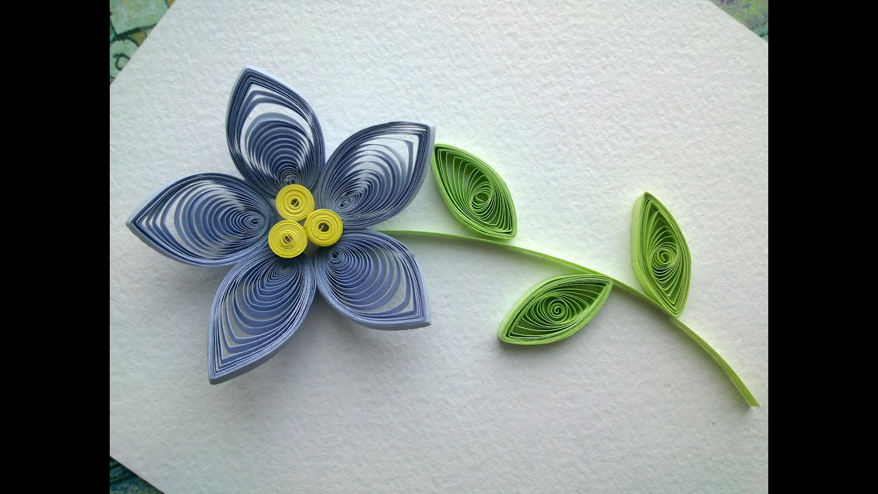 Quilling flowers tutorial make a beautiful quilling flower paper quilling flowers tutorial make a beautiful quilling flower paper art quilling mightylinksfo