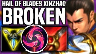 HAIL OF BLADES XIN ZHAO IS BROKEN! - When SKT T1 Haru Picks Xin Zhao Jungle! | SKT T1 Replays