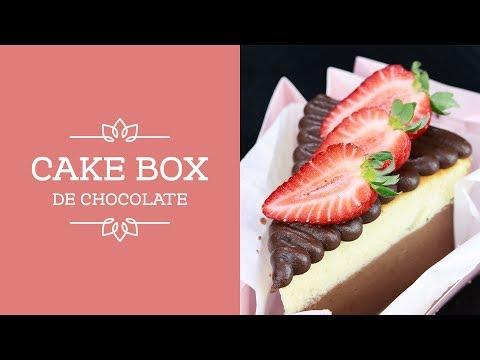 Alerta De Tendência   Aprenda A Fazer O Cake Box De Chocolate