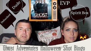 GHOST ADVENTURES HALLOWEEN SHOT BINGO | GOOGLEBOX STYLE  - Tanya Louise