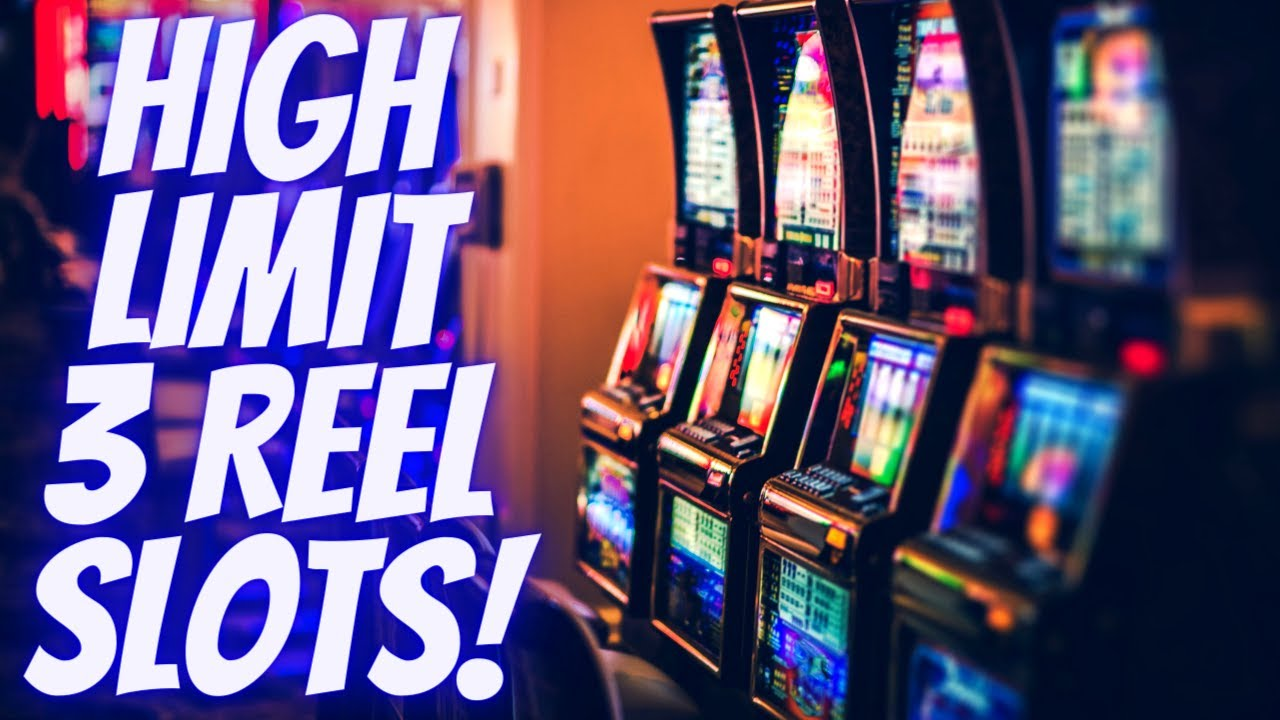 High Limit 3 Reel Slot Machines 30 Max Bets Live Slot Play At Casino Se5 Ep 13 Youtube