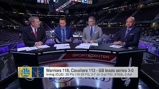 Warriors vs Cavaliers Postgame Analysis | Game 3 NBA Finals