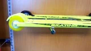 видео Колёса для лыжероллеров Marwe, One Way. Тесты, откатка | Ярославский спортивный блог любительского спорта (лыжные гонки, бег, триатлон, велогонки)