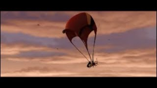 The Incredibles - Elastigirl transforms into Parachute