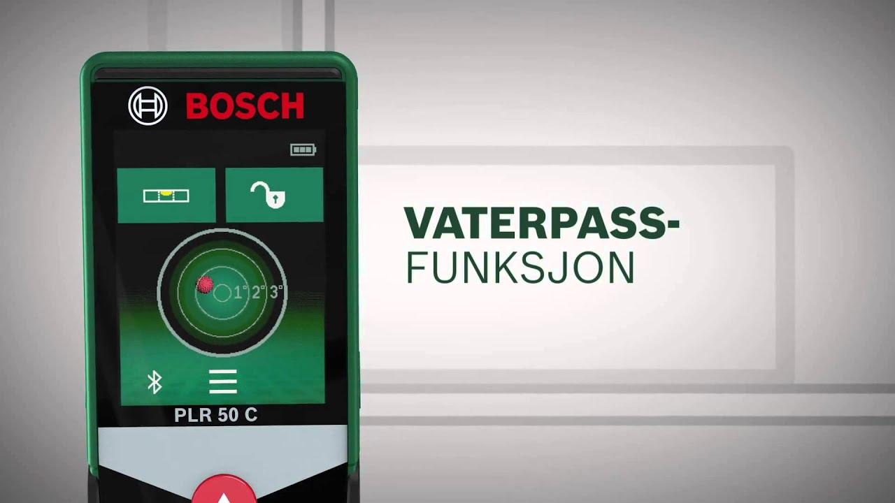 Bosch plr 50 c avstandsmåler: den nye målestokken for perfeksjon