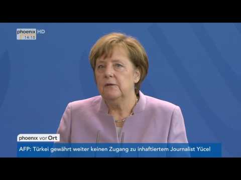 Treffen von Mahmoud Abbas und Angela Merkel am 24.03.2017