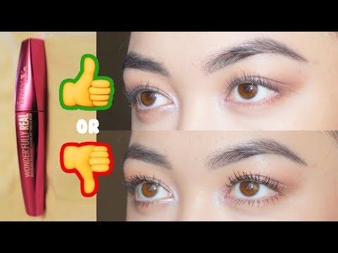 230a3cab667 NEW Rimmel Wonder'Fully REAL Mascara Review // Caroline Mystee - YouTube