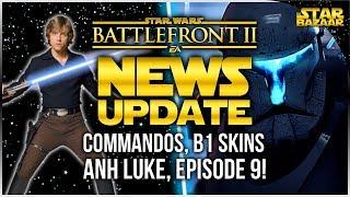 CRAZY NEWS Offline Instant Action, Clone Commandos, Luke Skin, Episode 9 | Battlefront 2 Update