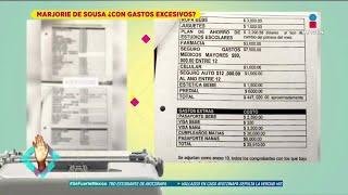 ¡gastos De Marjorie De Sousa Y Su Hijo Matías Son De Más De 400 Mil Pesos Al Mes! | De Primera Mano