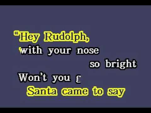 DK058 16   Christmas   Rudolph The Red Nosed Reindeer [karaoke]