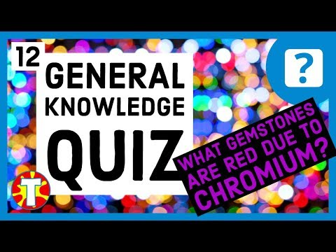 General Knowledge Quiz #12