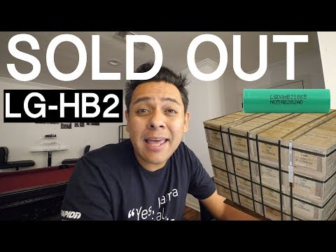 LG-HB2 18650 GROUP BUY - SOLD OUT