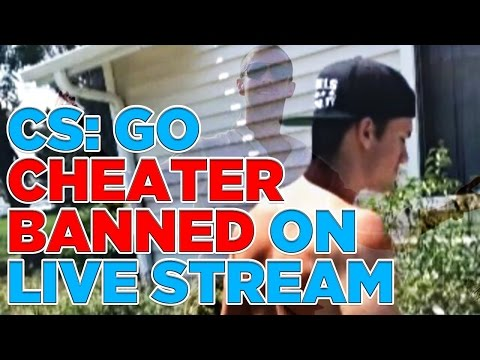 CS: GO Player Banned For Cheating Live On ESEA TV