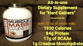 MUSCLE MASS GAINER Supplement Review   LABRADA Nutrition