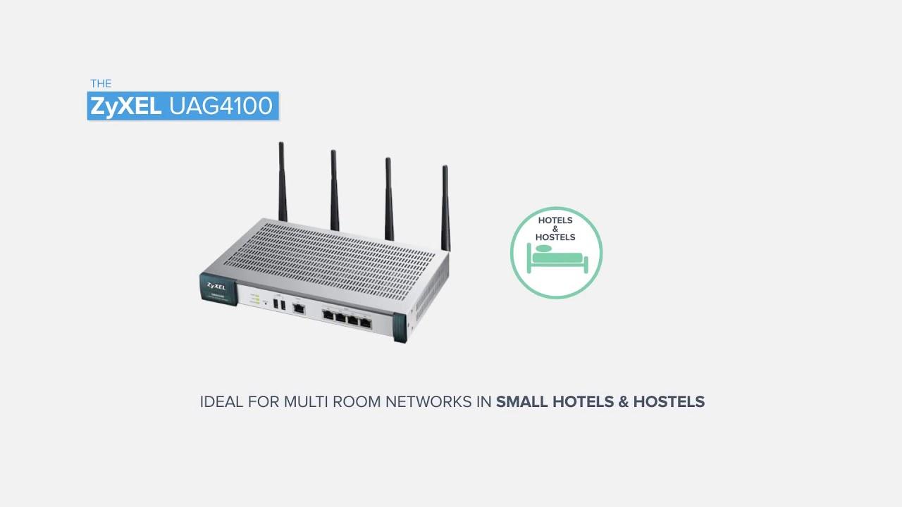 ZyXEL UAG4100 Gateway Drivers Download (2019)