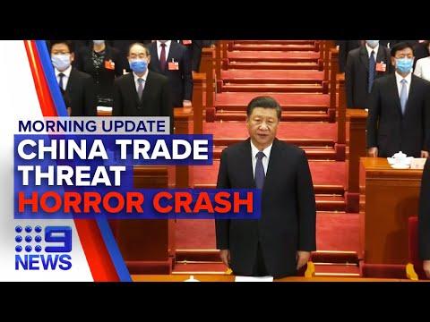 Sydney Crash Carnage, China Trade Tensions Escalate | Nine News Australia