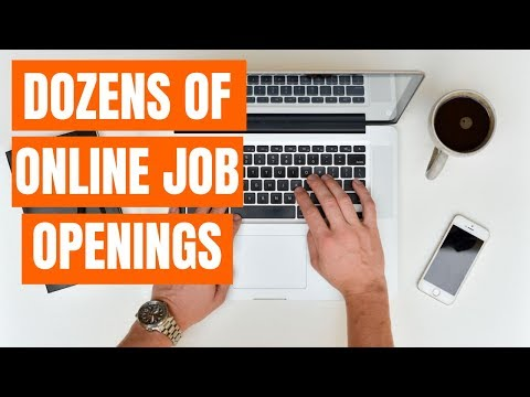 5 Work-At-Home Companies With TONS Of Online Job Openings 2019