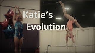 Katie's gymnastics evolution   Grow up