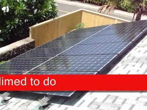DIY Install a Solar PV Off Grid System With a Grid Tie System (Part 1)