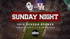 Oklahoma vs Houston Game Moved to Sunday September 1st