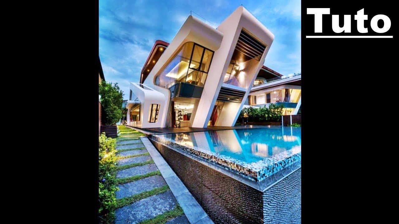 Tuto Maison Ultra Moderne Minecraft
