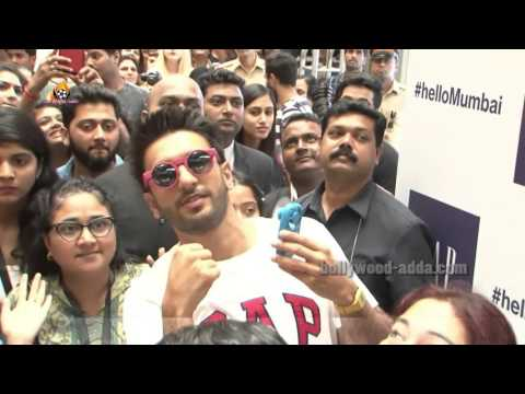 Ranveer Singh Launches Mumbai's First Gap Store At Oberoi Mall