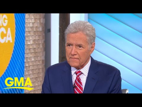 &39;Jeopardy&39; host Alex Trebek opens up about cancer battle l GMA