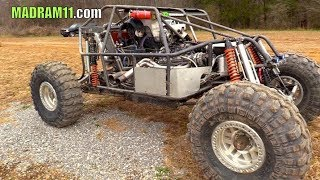 "THE ""RAPTURE""  CUSTOM BUILT MID ENGINE ROCK BOUNCER"