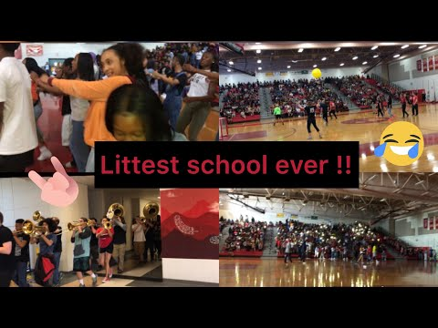 MOST LIT PEP RALLY EVER ????????(dance Battle????) *EXTREMELY FUNNY????*