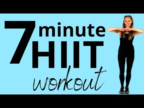 7 MINUTE HIIT WORKOUT FAT BURNING MOVES EASY TO FOLLOW HOME EXERCISE ROUTINE LUCY WYNDHAM-READ