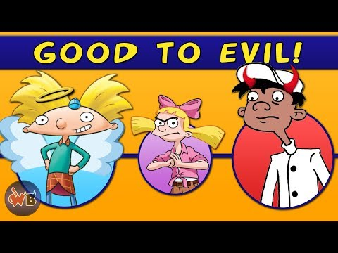 Hey Arnold! Characters: Good to Evil