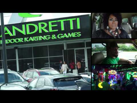 Hanging Out @ Andretti's Indoor Kart Racing & Games   🏎🏎🏎