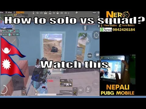 HOW TO SOLO VS SQUAD? Nero