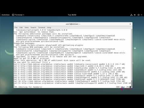 How to install QuiteRSS on Debian 9.0