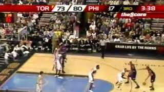 Allen Iverson and Rafer Alston pushing Donyell Marshall (2005) *Funny Scene thumbnail