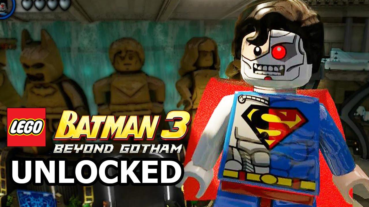 LEGO Batman 3: Beyond Gotham - How to Unlock Cyborg ...