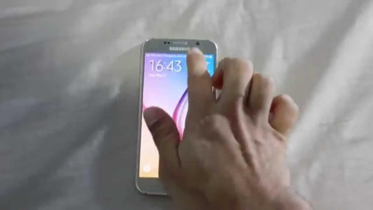 samsung écran tactile ne répond plus
