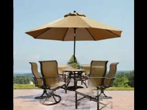 Patio Table Umbrella Design Ideas   YouTube