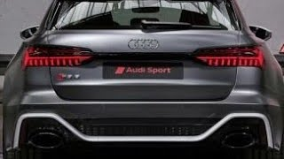 homepage tile video photo for NEW Audi RS6 Avant futuristic do YOU like it? Comment below [4k]