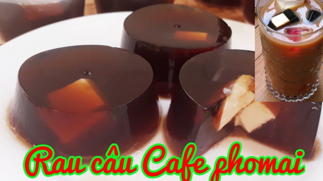 Cách làm Rau Câu Cafe Phomai cực dễ cùng cách pha trà sữa đơn giản ||Thanh Tâm Food