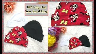 How To Sew A Baby Hat- Without Inside Seam