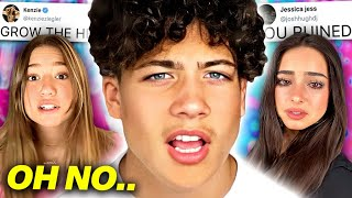 TikToker SPEAKS OUT Against JAMES CHARLES!, Addison Rae BACKLASH?!, Abby Lee Miller SHADES Kenzie