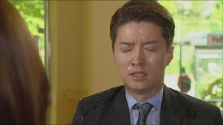make a woman cry 여자를 울려 13회 in gyo jin get doused with water 인교진 한이서에 물벼락 맞아 20150530