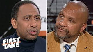 Stephen A. reacts to Hue Jackson's side of the Colin Kaepernick workout controversy | First Take