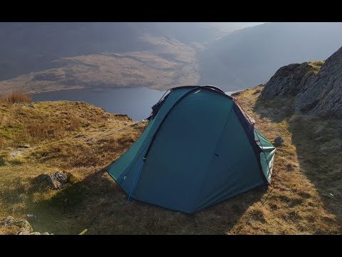 Wild camp with the Wild Country Helm 2 tent