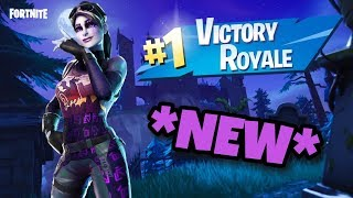 *NEW* SUPER SWEATY DARK BOMBER SKIN GAMEPLAY! | Fortnite Battle Royale