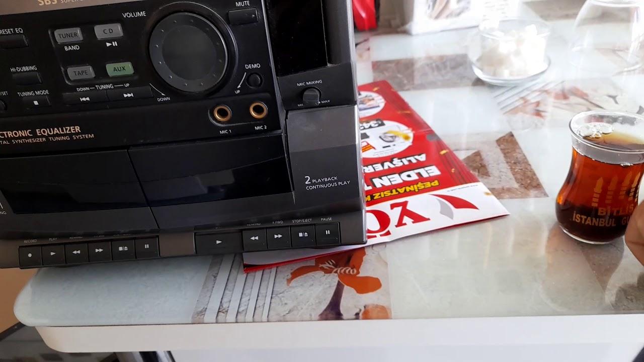 Arçelik MS-5450 Efsane Hi-Fi Müzik Seti (kulaklıkla dinleyin)