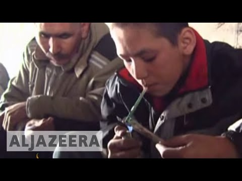 Drug addiction rise Afghanistan