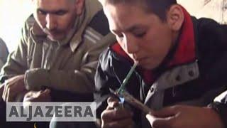 Drug addiction rise Afghanistan